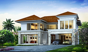 แบบบ้าน contemporary style
