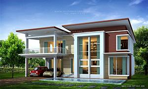 แบบบ้าน modern style