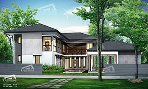 แบบบ้าน resort style