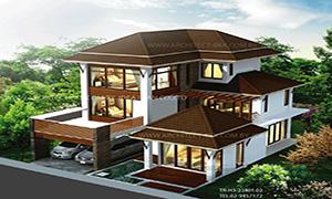 แบบบ้าน tropical style
